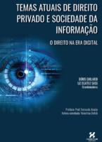 Temas Atuais De Direito Privado E Sociedade Da Informação